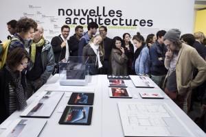 nouvelles architectures fonds régionaux d'art contemporain exposition galerie blanche