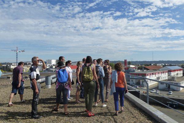 Visite de la cité numérique ©L.Courrilleau - arc en rêve centre d'architecture