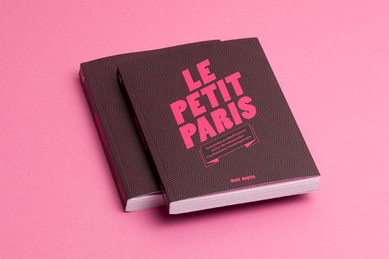 Deux degrés, PETIT PARIS, livre edition bookdesign - Martin Lavielle © Deux degrés